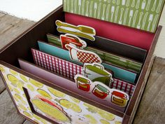 Kaiser Craft recipe box