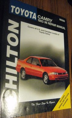 68200  Chilton Repair Manual Toyota Camry 1983-96