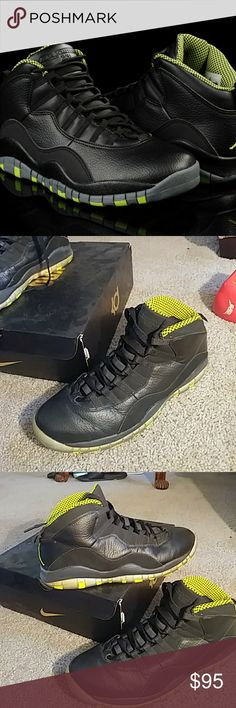f59c54ca850 Shop Men s Jordan Green Black size 12 Athletic Shoes at a discounted price  at Poshmark. Description  Jordan Retro Sold by Fast delivery