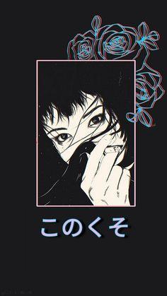 vaporwave wallpapers Sunshine no Kanashimi Japanese Aesthetic, Aesthetic Anime, Aesthetic Art, Aesthetic Backgrounds, Aesthetic Iphone Wallpaper, Aesthetic Wallpapers, Hd Backgrounds, Vaporwave Wallpaper, Animes Wallpapers