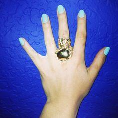 YSL gold ring