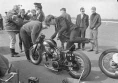 Unknown Triumph DCS2 DRAGSTER MOTORCYCLE
