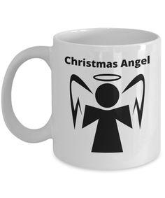 Christmas Angel Mug Gift Mugs, Gifts In A Mug, Christmas Angels, Xmas, Novelty Gifts, Tableware, Prints, Design, Dinnerware