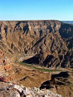 Fish River Canyon, Namibia, Africa - Travel Pinspiration on the blog!