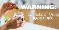 I've been using herbs and essential oils for over 10 years now and I'm shocked at the risks that people are taking when they jump into using essential oils.