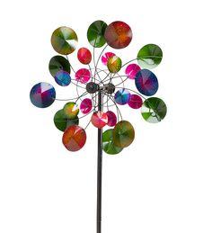 Kaleidoscope Metal Wind Spinner