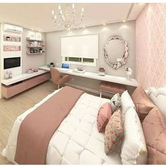 8 Teen Bedroom Theme Ideas That's So Great – Aldahlwi – 8 Teen Bedroom Theme Ideas That's So Great – Aldahlwi – Related posts: Ideas For Craft Ideas For Teen Girls Bedroom Diy Mason Jars – This is great for a laid-back but … Dream Rooms, Dream Bedroom, Home Bedroom, Master Bedroom, Bedroom Office, Girl Bedroom Designs, Bedroom Themes, Bedroom Decor, Girls Bedroom Furniture