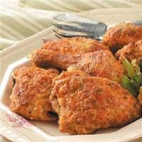 Oven Fried Chicken (