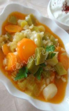 Lezzeti tescil edilmiş bir sebze yemeği :) Zeytinyağlı Portakallı Pırasa...