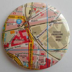Button 59 mm Magnet von AnnKara's Queerbeet-Shop auf DaWanda.com