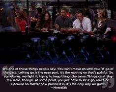 "Change is a necessary evil. | 23 Life Lessons We Learned From ""Grey's Anatomy"""