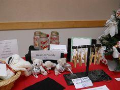 SJV Ladies Club craft show display 2013