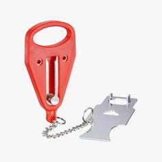 $ Hotel Door Locks, American Flag Pallet, Pallet Flag, Hole Puncher, 1 Piece, Gap, Size 12, Stainless Steel, Plastic