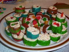 Candy sushi, what?! This is going to be perfect for girl's night!