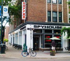 Spyhouse coffee in Minneapolis.