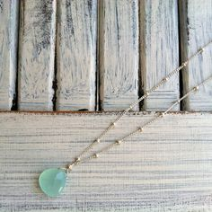 Chalcedony symbolizes clarity and focus. A great reason to wear one at the office.