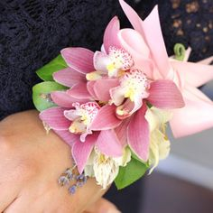 A wrist corsage is a stylish alternative to traditional corsages.