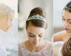 20 Beautiful Bridal Headbands to Create Your Princess-Worthy Hairdo! Bridal Headbands, Hair Up Or Down, Wedding Altars, Modern Romance, Classic Beauty, Up Hairstyles, Simple Dresses, Wedding Designs, Wedding Photography