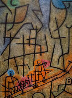 Paul Klee, Conquête de la montagne  http://casaprints.com/fr/51-reproductions-de-tableaux-de-paul-klee