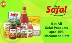 Bring Home The Goodness Of Nature !!! Order All #Safal Products Upto 10% Discounted Rate Available Only At Grocery Mantra #OnlineSuperMarket #OnlineGroceryShopping #TingTing #JaiHind #SaveWater