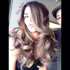 But first let me take a #selfie #guytang #balayage #ombre #hairbrained #californianas