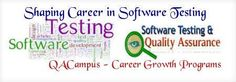 QACampus provide Software Testing Training in Noida for fresher and experienced in testing. We help the students for building the bright future in testing http://www.qacampus.com/