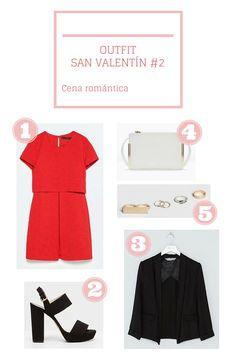Outfits San Valentín
