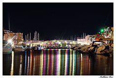 La passerelle du port de Gruissan par Matthieu Aude Languedoc Sud France