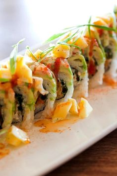 Piranha Killer Sushi's Latino Roll is the #1 patron favorite.