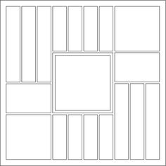 Scrapbook Layout : Sketch 11 - Stripped Photos - Mosaic Moments ...