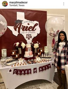 graduation celebration ideas Awe-Inspiring Graduation Party ideas and inspirations for your 2019 Graduate amp; End of School celebrations - Hike n Dip Graduation Party Desserts, Outdoor Graduation Parties, Graduation Party Centerpieces, Graduation Party Planning, Graduation Celebration, Graduation Decorations, Graduation Party Decor, Grad Parties, Graduation Table Decorations
