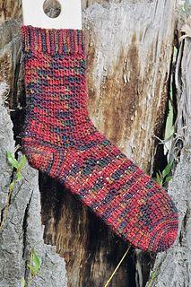 Easy Crocheted Socks by Janet Rehfeldt