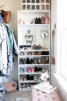 Ikea Billy Bookcase 29 Heels 9 Flats 13 Sandals 4