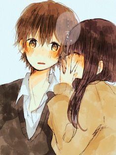 anime kiss | Tumblr