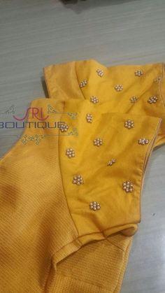 Best 12 Sudhasri hemaswardrobe – Page 539095017895060276 – SkillOfKing. Kids Blouse Designs, Simple Blouse Designs, Stylish Blouse Design, Wedding Saree Blouse Designs, Saree Blouse Neck Designs, Designer Blouse Patterns, Blouse Models, Work Blouse, Embroidery Works
