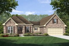Love this country-style ranch home. (ThePlanCollection: House Plan #142-1145)