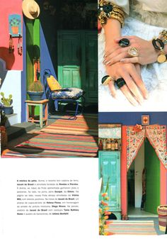 Cores de Frida Kahlo... cores - Maria MoleMaria Mole
