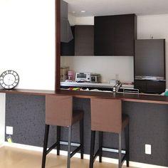 IKEA/台所/カウンターキッチン/キッチンのインテリア実例 - 2012-12-09 14:28:12 | RoomClip(ルームクリップ)