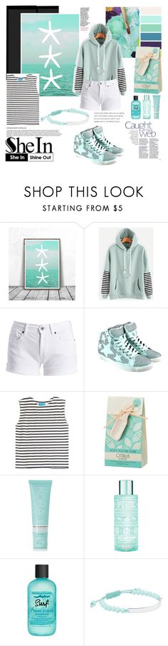 """Shein"" by shibhazakura ❤ liked on Polyvore featuring Barbour International, M.i.h Jeans, KORA Organics by Miranda Kerr, Bumble and bumble and Witchery"