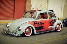 Volkswagen ragtop sunroof beetle surf bug