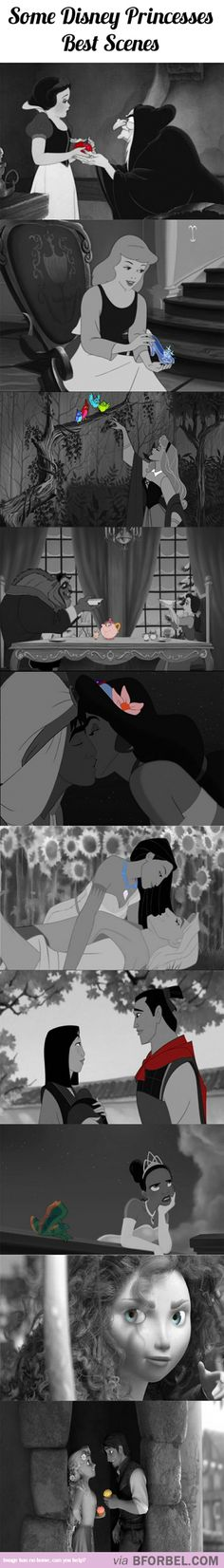 10 Best Scenes Of Disney Princesses With A Touch Of Color…