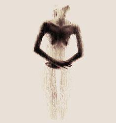 Naked Silhouette Alphabet on Behance