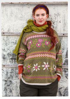 GUDRUN SJÖDÉN – Icelandic sweater!