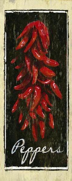 Karen J. Williams - Peppers - art prints and posters