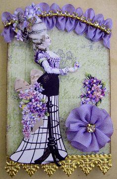 Purple Marie Antoinette