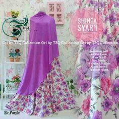 Beli Gamis Cantik Shinta Syar'i Motif Bunga Unik - http://www.butikjingga.com/gamis-cantik-shinta-syari-motif-bunga