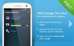 Shrink your image in your device