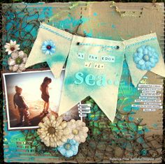 At The Edge Of The Sea - Scrapbook.com