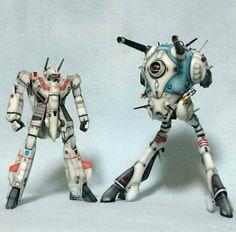 Robotech Macross VF-1j battlepod