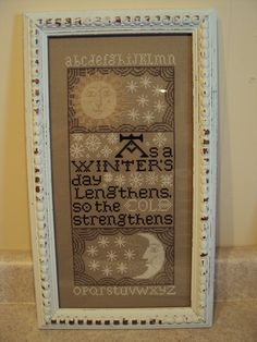 Winter Sampler by Prairie Schooler